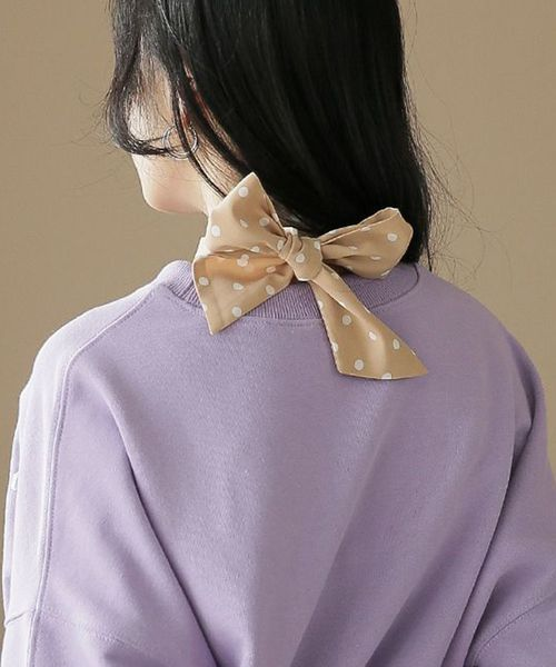 ドット柄ネクタイスカーフ