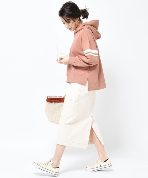 [COLLAGE GALLARDAGALANTE] 【WEB限定】 サファリ風タイトスカート【S COLLAGE】2