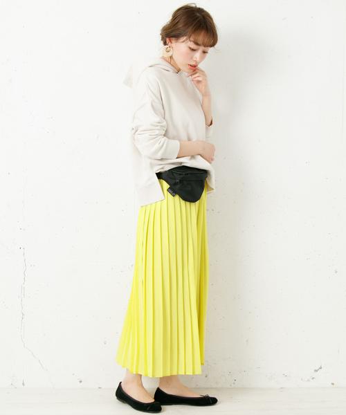 [URBAN RESEARCH] プリーツロングスカート