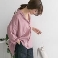 大きめサイズが今っぽい!大人の余裕を感じる大人可愛いビッグシャツコーデ特集♡