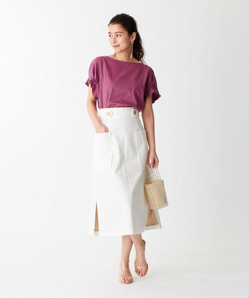 SMF コットンツイル フロントチェーンスカート