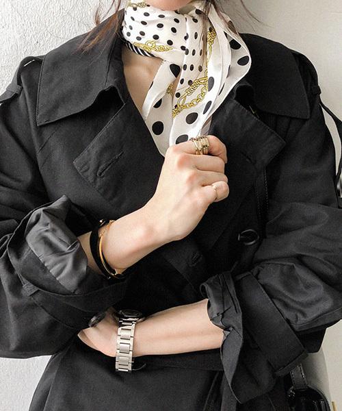NANING9(ナンニング)ドットスカーフ