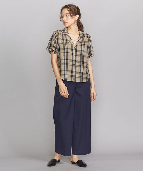 [BEAUTY&YOUTH UNITED ARROWS] <GROVE SEOUL>オープンカラーシャツ