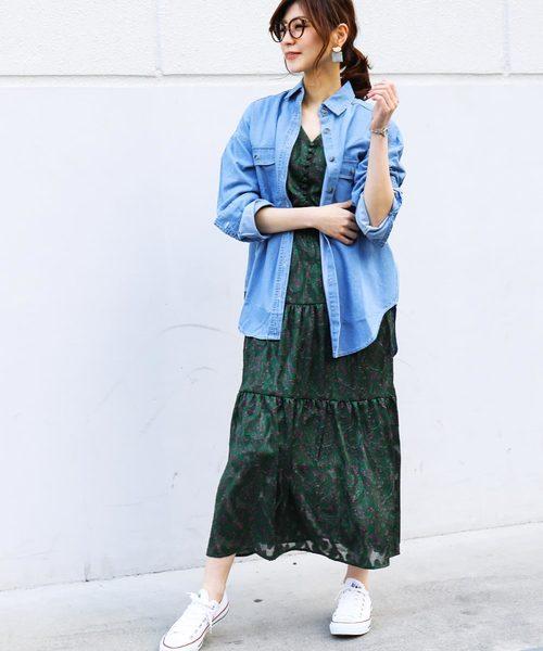 [Fashion Letter] 6ozデニムビッグシャツ