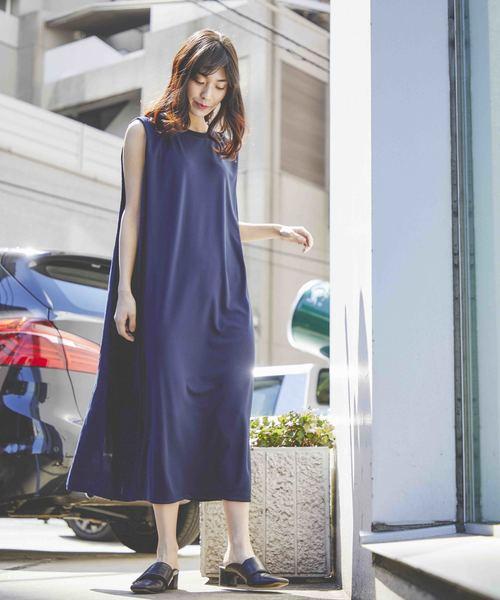 [TOKYO DEPARTMENT STORE] 【Audrey and john wad】Li/Vi Canvas × High Twist Smooth H2410R1 《異素材切替》