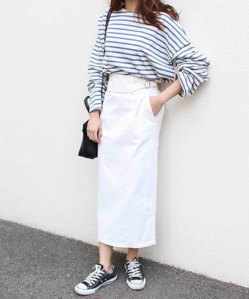 [MODE ROBE] ベルトナロースカート