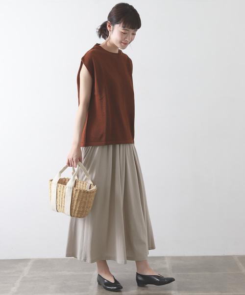 [かぐれ] カットギャザースカート