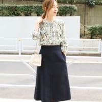 ふんわりシルエットが可愛い♡「フレアスカート」は春コーデに欠かせない!