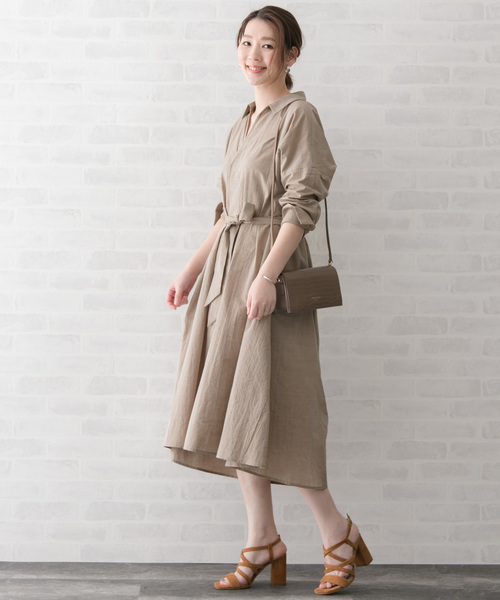 [URBAN RESEARCH ROSSO WOMEN] シャツワンピース