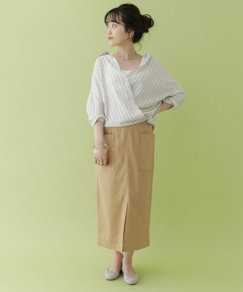 ポケットタイトスカート