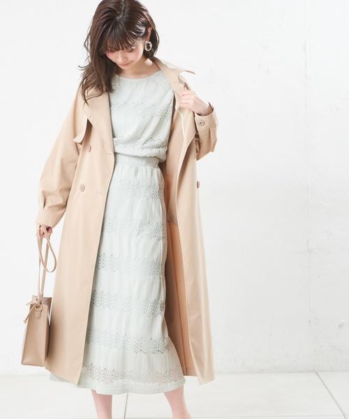 [natural couture] なみなみレーススカート