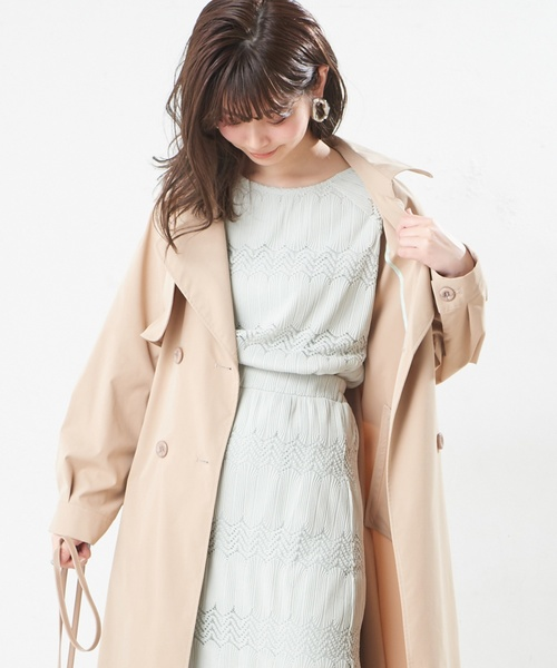 [natural couture] なみなみレーストップス