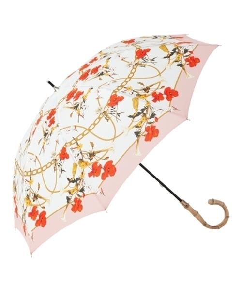 [Francfranc] 【晴雨兼用】フラール 長傘 47cm ピンク