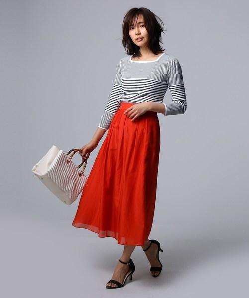 ソフトローンマキシスカート