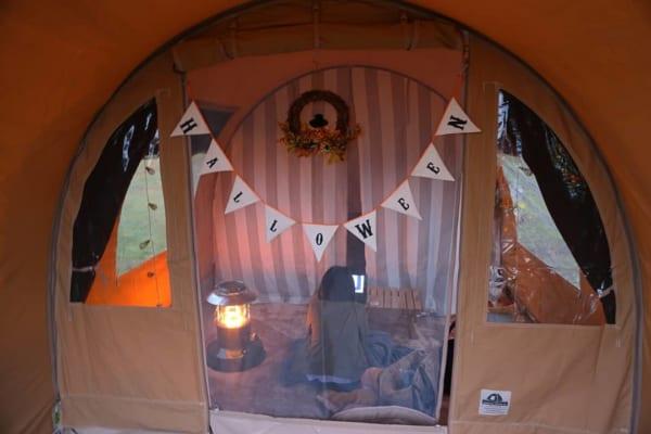布製のアイテムでキャンプにぬくもりを6