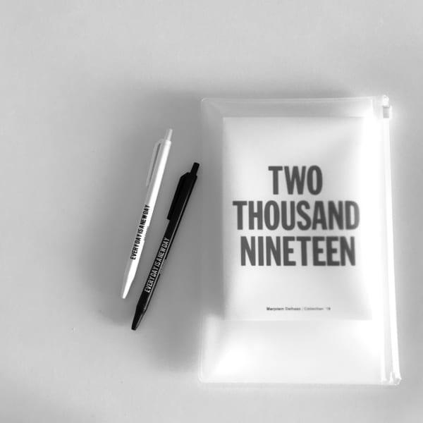 手帳とボールペン収納