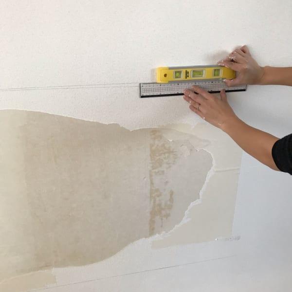 壁面 黒板塗料 DIY