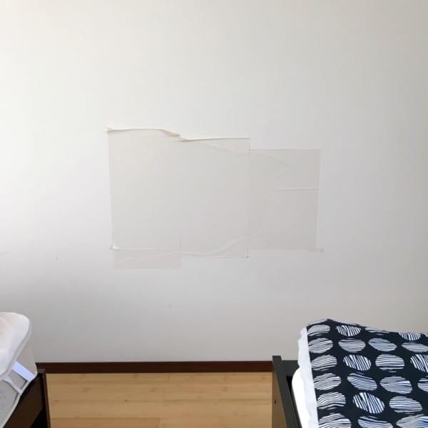壁 穴 リメイクシート