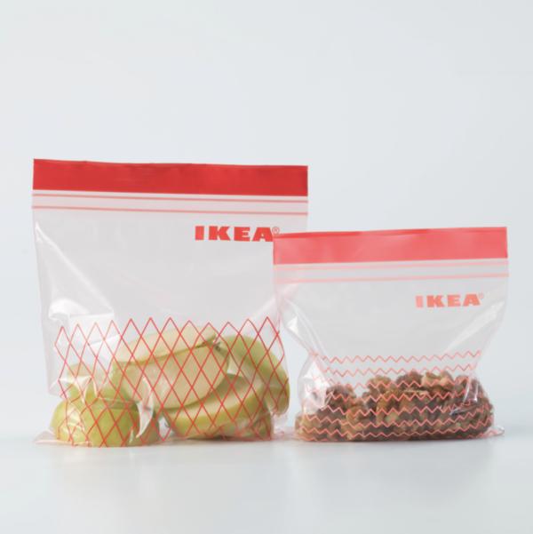 16. IKEAのプラスチック袋 ISTAD イースタード