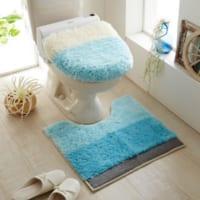 夏に向けて準備!トイレの印象を変えるさわやかカラーのトイレインテリア実例