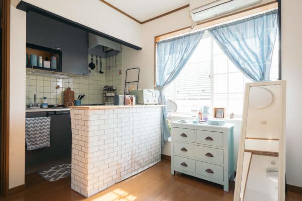 ワンルームのキッチンインテリア9