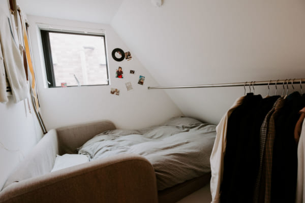 ベッドルーム 収納3