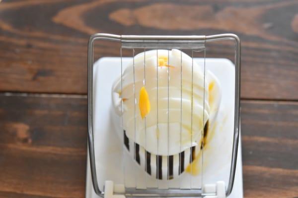 ブロッコリーと卵のデリ風サラダ7