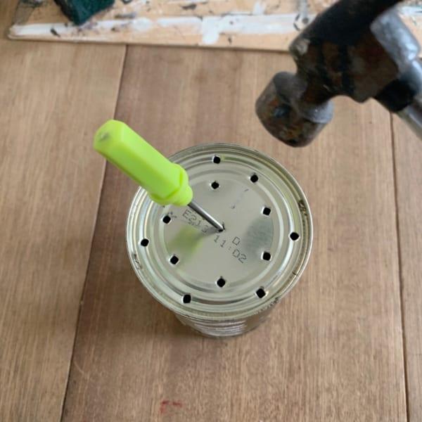 セリアでお洒落なリメ缶DIY2