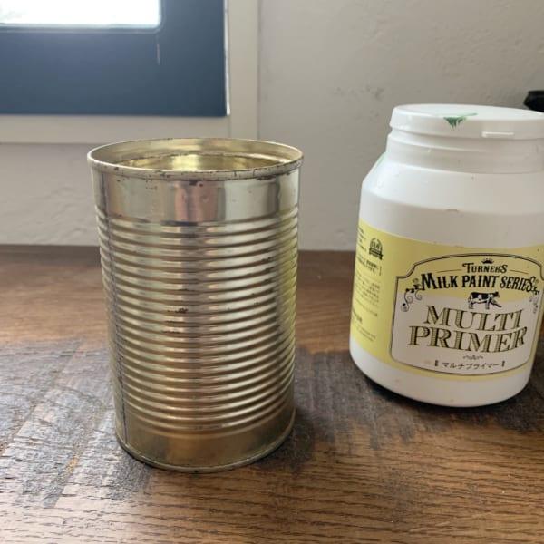 セリアでお洒落なリメ缶DIY3
