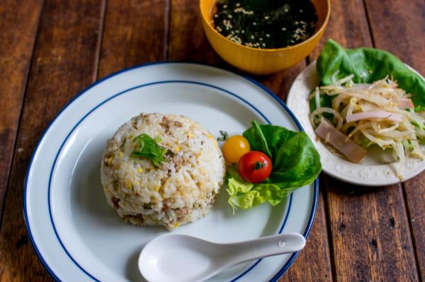 ネギ豚チャーハンと簡単副菜7