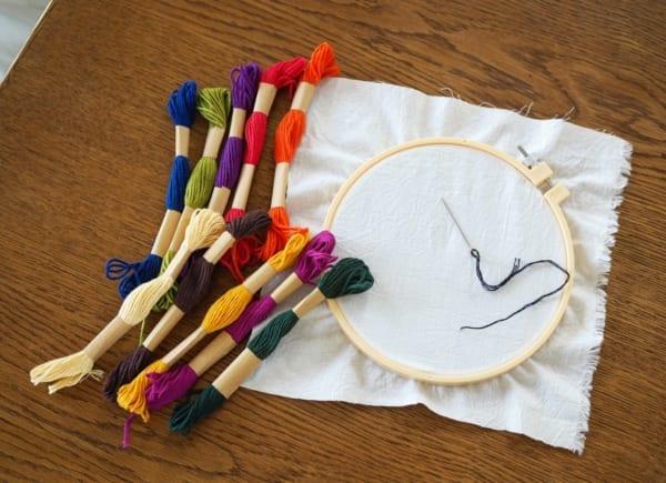 刺繍 材料