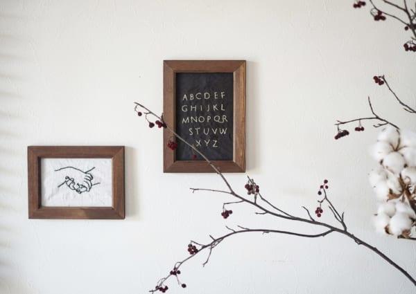 刺繍 作り方 ディスプレイ2
