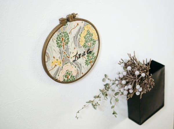刺繍作品 ディスプレイ 刺繍枠4