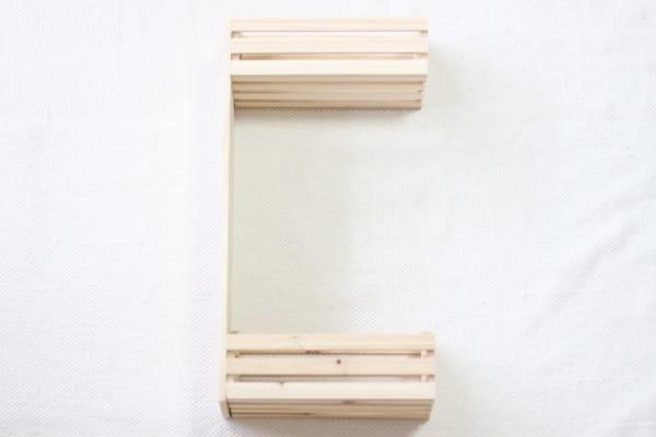 100均セリアで作る簡単シェルフ!6