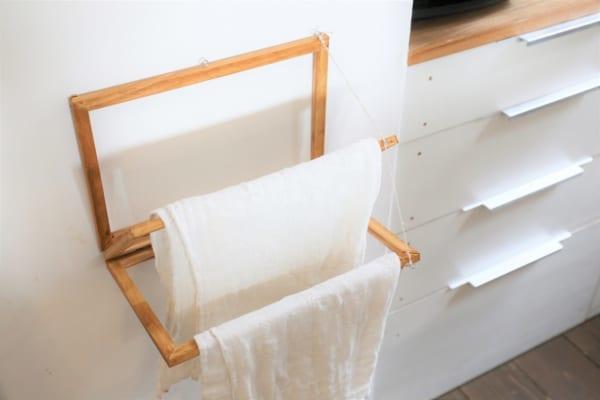 折りたたみ布巾かけ14