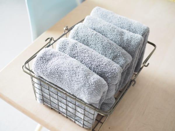 洗面所のタオル収納2