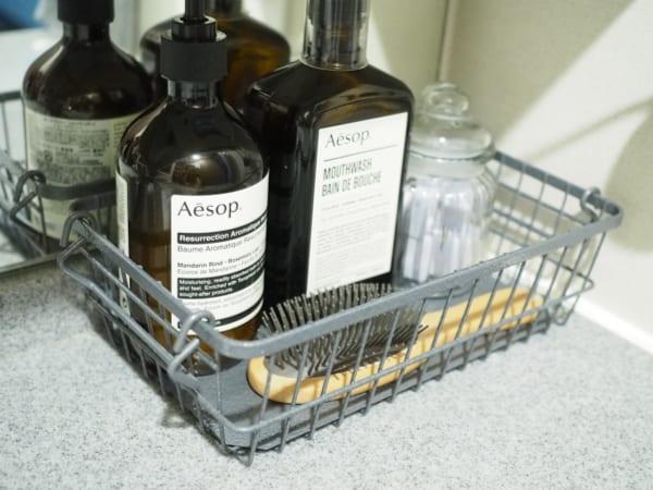 洗面台上の収納3