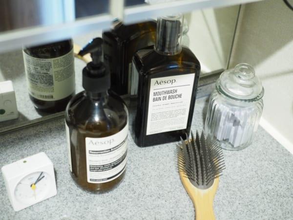 洗面台上の収納2