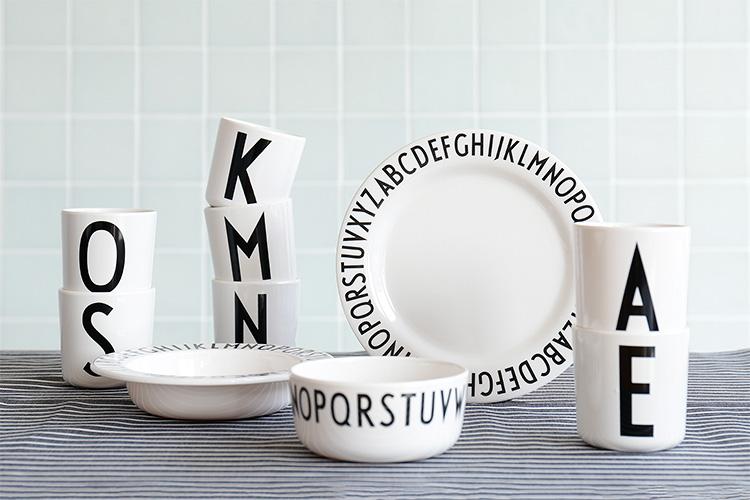 デザインレターズの食器
