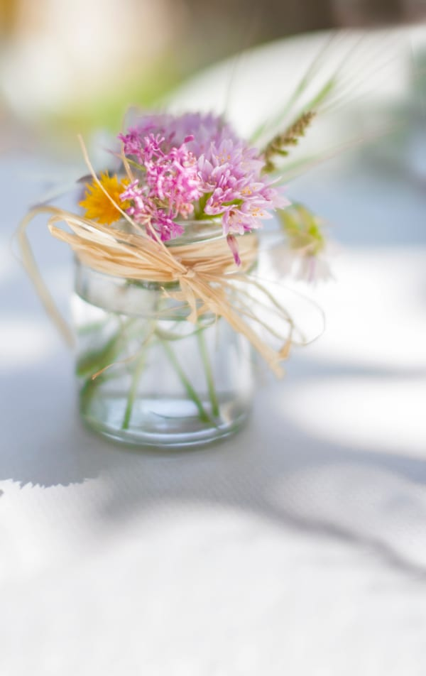 ピンクの生花を美しくあしらう10のアイデア7