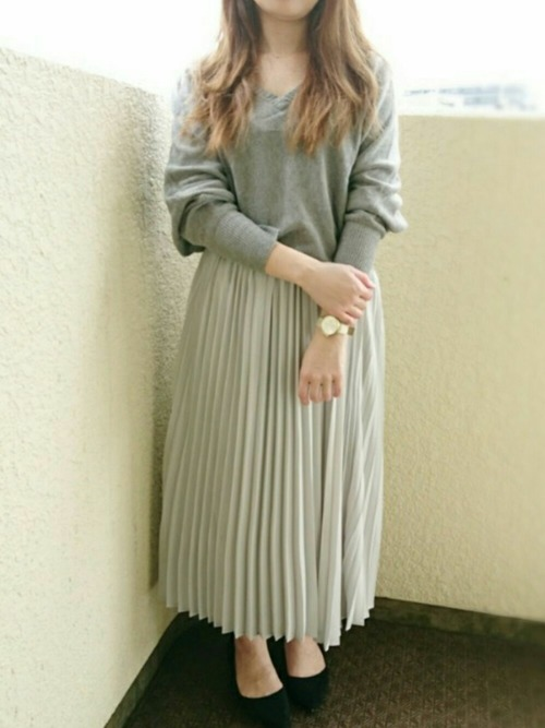 GU グレースカート コーデ6