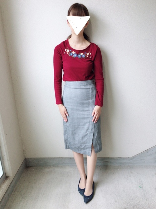 GU グレースカート コーデ8