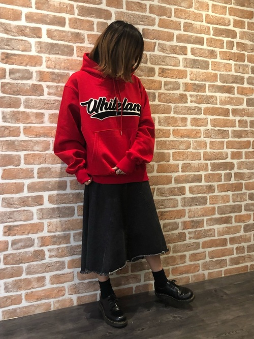 [L.H.P PRIVATE LAB] WHITELAND/ホワイトランド/WAPPEN HOODIE