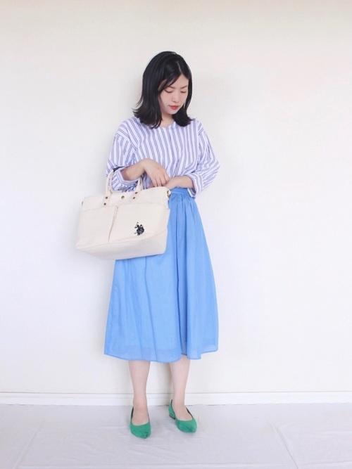 [FREDY&GLOSTER] 【Gigi】綿ローンギャザースカート