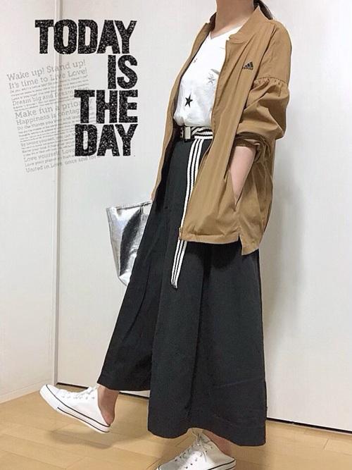 [adidas] W SPORT ID ビッグロゴストレッチタッサージャケット