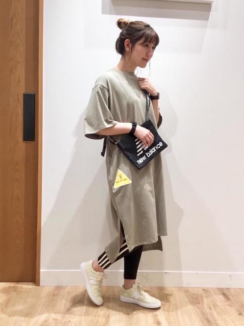 [coen] 【1M】ドライTシャツワンピース