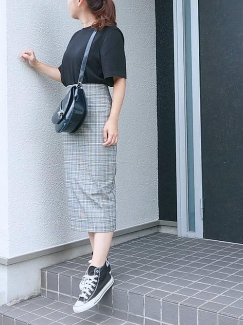 ZARA グレースカート コーデ2