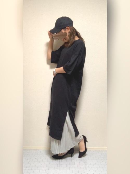 GU グレースカート コーデ