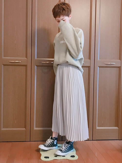 GU グレースカート コーデ5