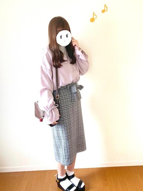 GU グレースカート コーデ7
